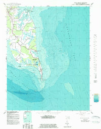 Download a high-resolution, GPS-compatible USGS topo map for Point Lookout, MD (1983 edition)