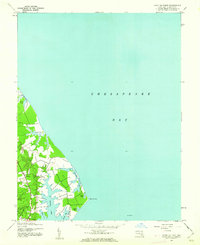 Download a high-resolution, GPS-compatible USGS topo map for Point No Point, MD (1962 edition)