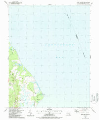 Download a high-resolution, GPS-compatible USGS topo map for Point No Point, MD (1987 edition)