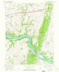 Download a high-resolution, GPS-compatible USGS topo map for Point Of Rocks, MD (1972 edition)