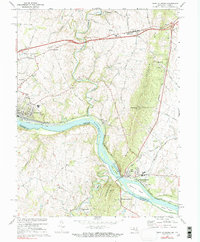 Download a high-resolution, GPS-compatible USGS topo map for Point Of Rocks, MD (1991 edition)