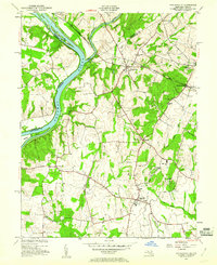 Download a high-resolution, GPS-compatible USGS topo map for Poolesville, MD (1960 edition)