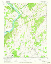 Download a high-resolution, GPS-compatible USGS topo map for Poolesville, MD (1972 edition)