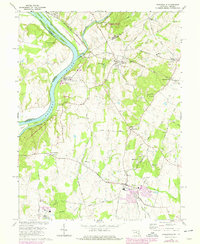 Download a high-resolution, GPS-compatible USGS topo map for Poolesville, MD (1978 edition)