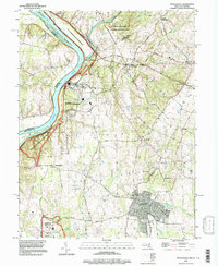 Download a high-resolution, GPS-compatible USGS topo map for Poolesville, MD (1997 edition)