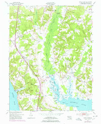 Download a high-resolution, GPS-compatible USGS topo map for Popes Creek, MD (1978 edition)