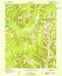 Download a high-resolution, GPS-compatible USGS topo map for Port Tobacco, MD (1953 edition)