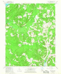 Download a high-resolution, GPS-compatible USGS topo map for Port Tobacco, MD (1968 edition)
