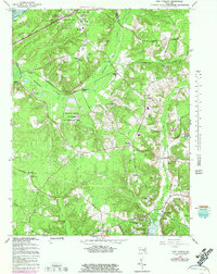 Download a high-resolution, GPS-compatible USGS topo map for Port Tobacco, MD (1983 edition)