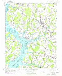 Download a high-resolution, GPS-compatible USGS topo map for Preston, MD (1976 edition)