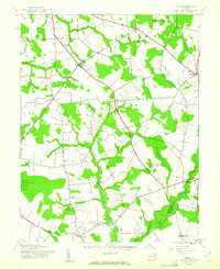 Download a high-resolution, GPS-compatible USGS topo map for Price, MD (1961 edition)