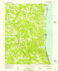 Download a high-resolution, GPS-compatible USGS topo map for Prince Frederick, MD (1956 edition)