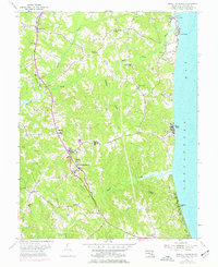 Download a high-resolution, GPS-compatible USGS topo map for Prince Frederick, MD (1977 edition)