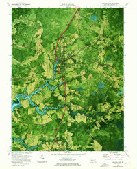 Download a high-resolution, GPS-compatible USGS topo map for Princess Anne, MD (1975 edition)