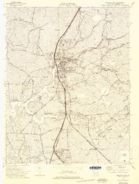 Download a high-resolution, GPS-compatible USGS topo map for Princess Anne, MD (1974 edition)
