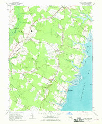 Download a high-resolution, GPS-compatible USGS topo map for Public Landing, MD (1969 edition)
