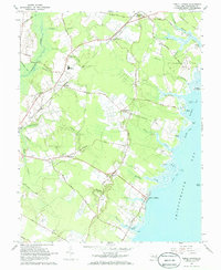 Download a high-resolution, GPS-compatible USGS topo map for Public Landing, MD (1968 edition)