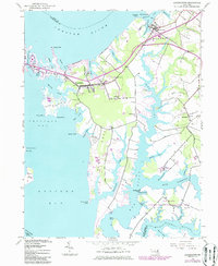 Download a high-resolution, GPS-compatible USGS topo map for Queenstown, MD (1986 edition)