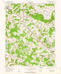 Download a high-resolution, GPS-compatible USGS topo map for Reisterstown, MD (1963 edition)