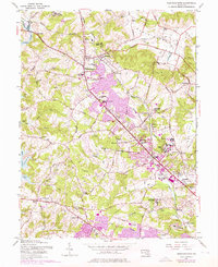 Download a high-resolution, GPS-compatible USGS topo map for Reisterstown, MD (1976 edition)