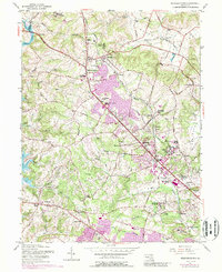 Download a high-resolution, GPS-compatible USGS topo map for Reisterstown, MD (1989 edition)