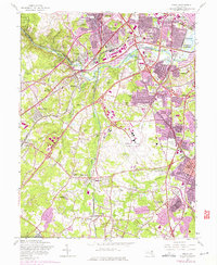 Download a high-resolution, GPS-compatible USGS topo map for Relay, MD (1975 edition)