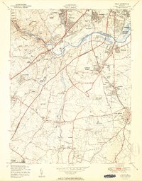 Download a high-resolution, GPS-compatible USGS topo map for Relay, MD (1950 edition)