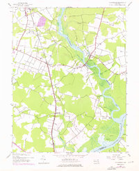 Download a high-resolution, GPS-compatible USGS topo map for Rhodesdale, MD (1976 edition)