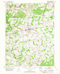 Download a high-resolution, GPS-compatible USGS topo map for Rising Sun, MD (1966 edition)