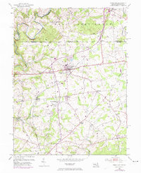 Download a high-resolution, GPS-compatible USGS topo map for Rising Sun, MD (1974 edition)