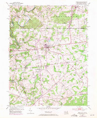 Download a high-resolution, GPS-compatible USGS topo map for Rising Sun, MD (1971 edition)