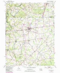 Download a high-resolution, GPS-compatible USGS topo map for Rising Sun, MD (1985 edition)