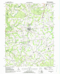 Download a high-resolution, GPS-compatible USGS topo map for Rising Sun, MD (1993 edition)