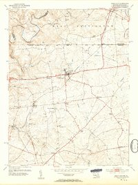 Download a high-resolution, GPS-compatible USGS topo map for Rising Sun, MD (1954 edition)