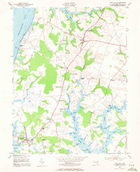 Download a high-resolution, GPS-compatible USGS topo map for Rock Hall, MD (1971 edition)