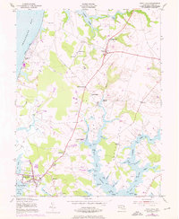 Download a high-resolution, GPS-compatible USGS topo map for Rock Hall, MD (1976 edition)