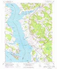 Download a high-resolution, GPS-compatible USGS topo map for Rock Point, MD (1943 edition)