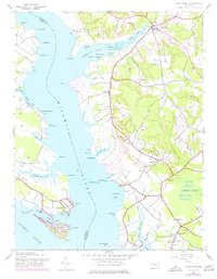 Download a high-resolution, GPS-compatible USGS topo map for Rock Point, MD (1977 edition)