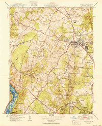 Download a high-resolution, GPS-compatible USGS topo map for Rockville, MD (1951 edition)