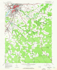 Download a high-resolution, GPS-compatible USGS topo map for Salisbury, MD (1971 edition)