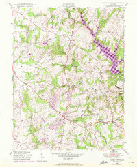 Download a high-resolution, GPS-compatible USGS topo map for Sandy Spring, MD (1972 edition)