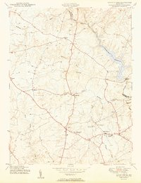 Download a high-resolution, GPS-compatible USGS topo map for Sandy Spring, MD (1950 edition)