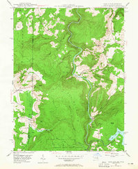 Download a high-resolution, GPS-compatible USGS topo map for Sang Run, MD (1965 edition)