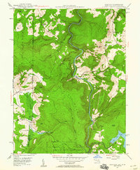 Download a high-resolution, GPS-compatible USGS topo map for Sang Run, MD (1960 edition)