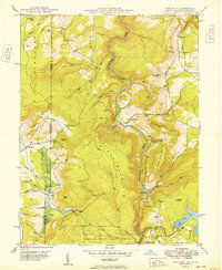 Download a high-resolution, GPS-compatible USGS topo map for Sang Run, MD (1949 edition)