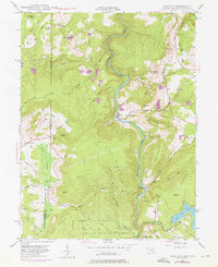Download a high-resolution, GPS-compatible USGS topo map for Sang Run, MD (1976 edition)