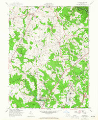 Download a high-resolution, GPS-compatible USGS topo map for Savage, MD (1965 edition)
