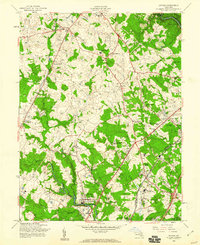 Download a high-resolution, GPS-compatible USGS topo map for Savage, MD (1960 edition)