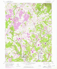 Download a high-resolution, GPS-compatible USGS topo map for Savage, MD (1976 edition)