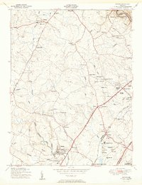 Download a high-resolution, GPS-compatible USGS topo map for Savage, MD (1950 edition)